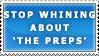 The 'Preps' Stamp by Spikytastic