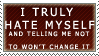 But the Truth Is Stamp by Spikytastic