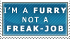 Furry, not a Freak-job by Spikytastic