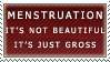 It's Just Gross Stamp