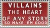 Villains Stamp