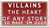 Villains Stamp by Spikytastic