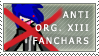 Anti-Org. XIII Fanchars Stamp by Spikytastic