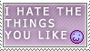 What You Like Stamp by Spikytastic