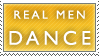 Dance Man Dance Stamp by Spikytastic