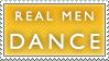 Dance Man Dance Stamp by Spikytastic
