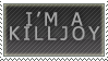 Killjoy Stamp by Spikytastic