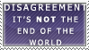 Disagreement Stamp by Spikytastic