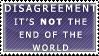 Disagreement Stamp by Spikytastic
