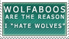 Wolfaboos: The Reason Stamp by Spikytastic