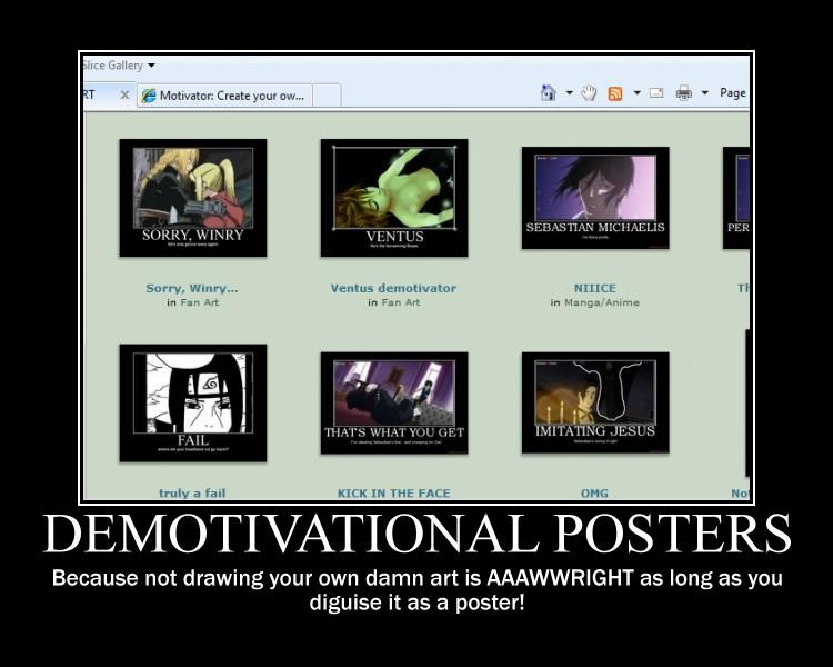 On Demotivators- A Demotivator by Spikytastic