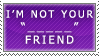 Token Minority Friend Stamp by Spikytastic
