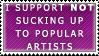 Suck Up Stamp