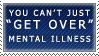 Getting Over Illness Stamp