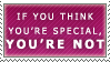 A Very Special Stamp by Spikytastic