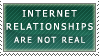 Internet Relationships Stamp by Spikytastic
