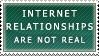 Internet Relationships Stamp by Spikytastic