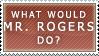 WWMRD? Stamp