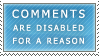 Disabled Comments Stamp by Spikytastic