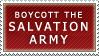 Salvation Army? Stamp by Spikytastic
