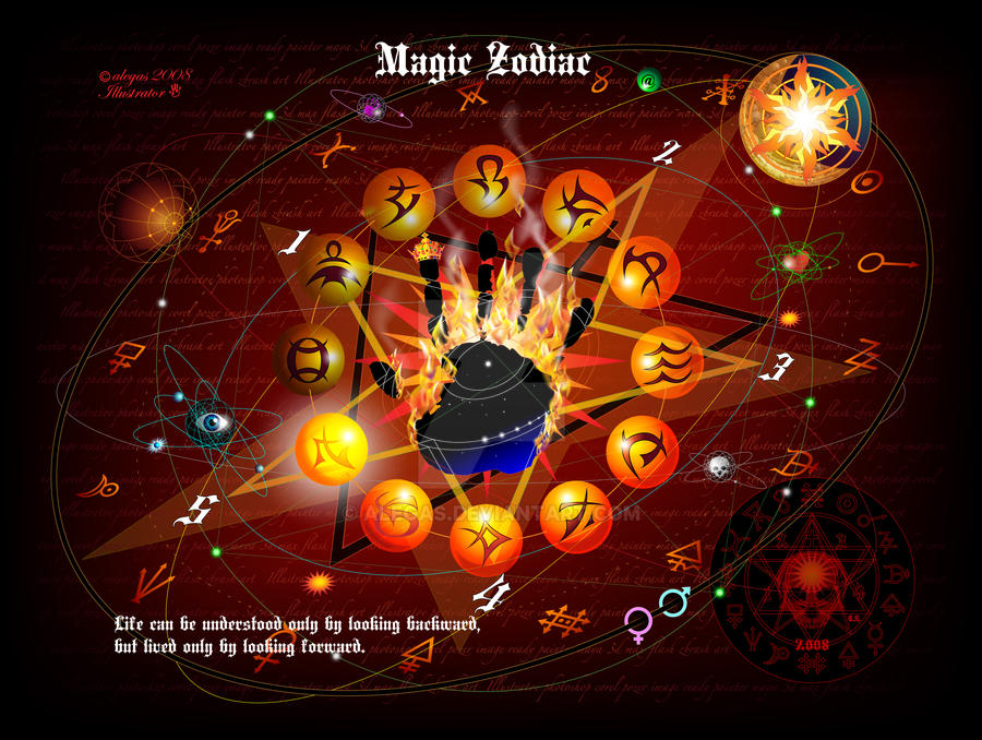 Magic Zodiac by alegas