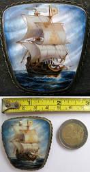 Sailing ship by alegas