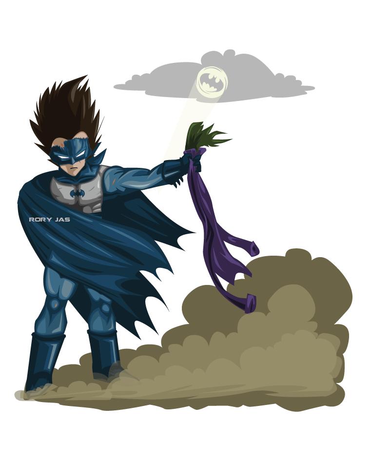 Vegeta Batman, stage1 by RoryJas on DeviantArt