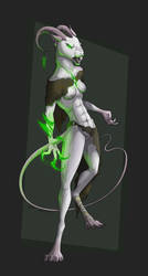 White Rat -AUCTION/SOLD- by Celeun