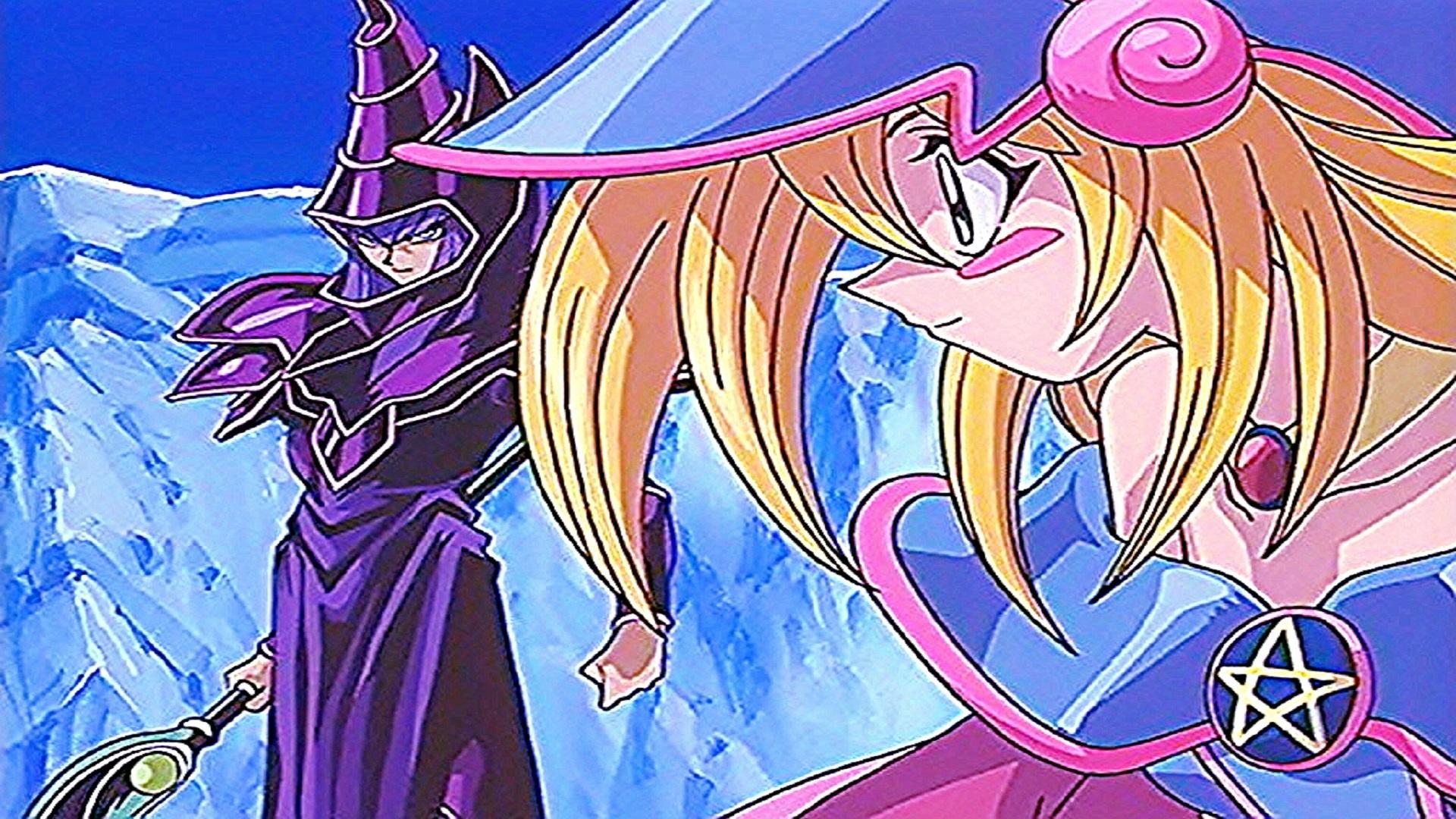 Yugioh Dark Magician And Dark Magician Girl 1 By Chrisman83 On