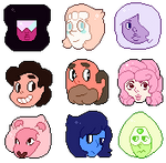 Free Use Steven Universe Icons