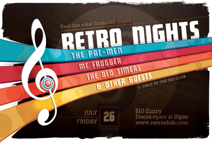 Retro Flyer by januz