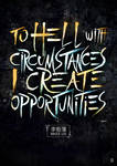 I Create opportunities