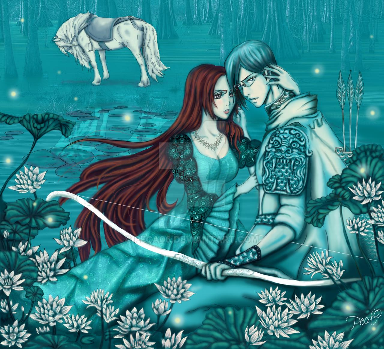 Ishihime fairy tale by peca06
