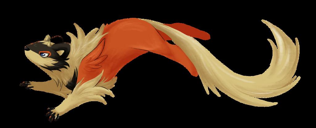 Little Dragon Weasel by ThatWildMary