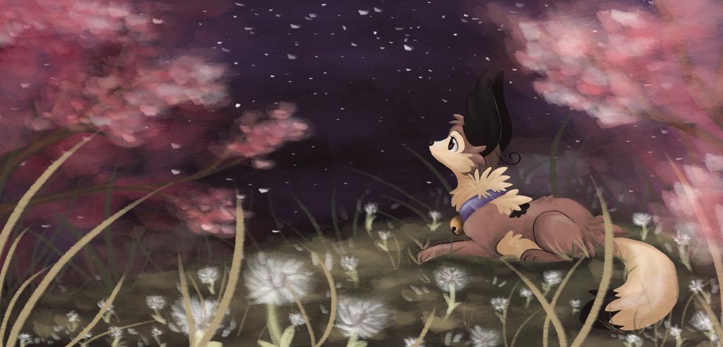 Peaceful Nights [Speedpaint] by ThatWildMary