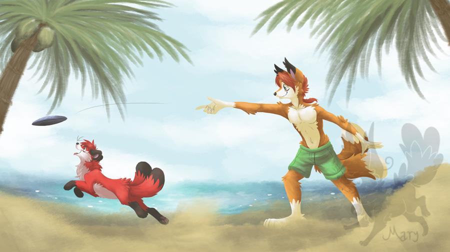 [CM] Fun at the Beach by ThatWildMary