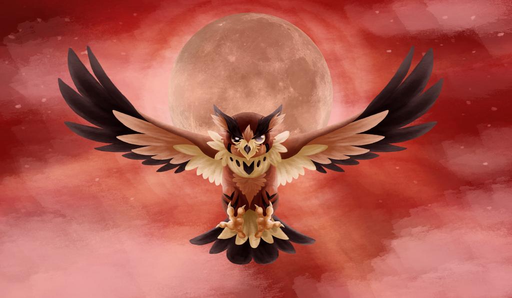 Crimson Night by ThatWildMary