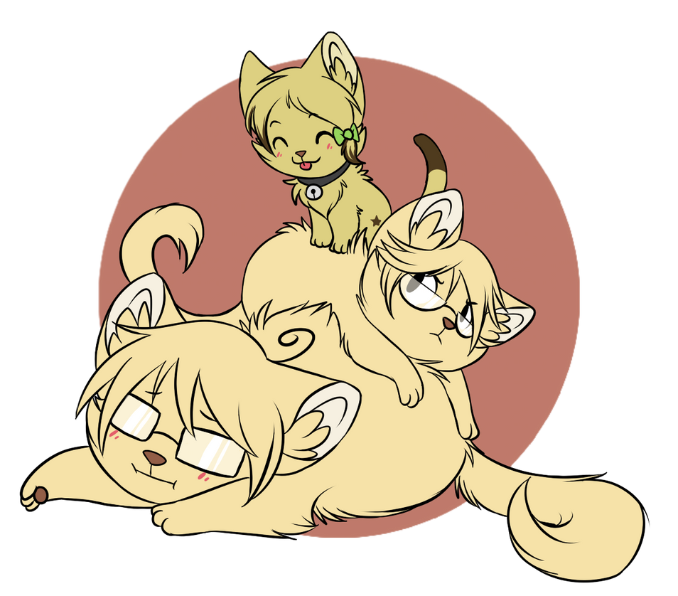 [CM] Pile of cat by ThatWildMary