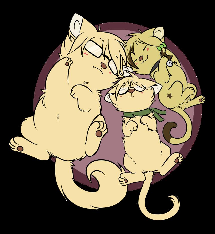[CM] Kitty Trio by ThatWildMary
