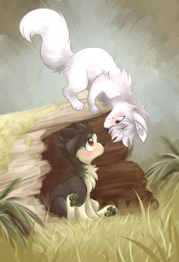 The Fox and the Hound by ThatWildMary
