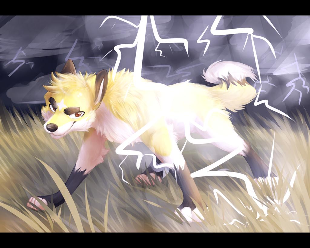 Lightning! by ThatWildMary