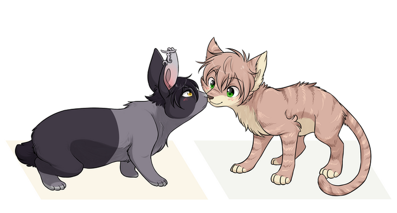 [CM] Toma and Jaze by ThatWildMary