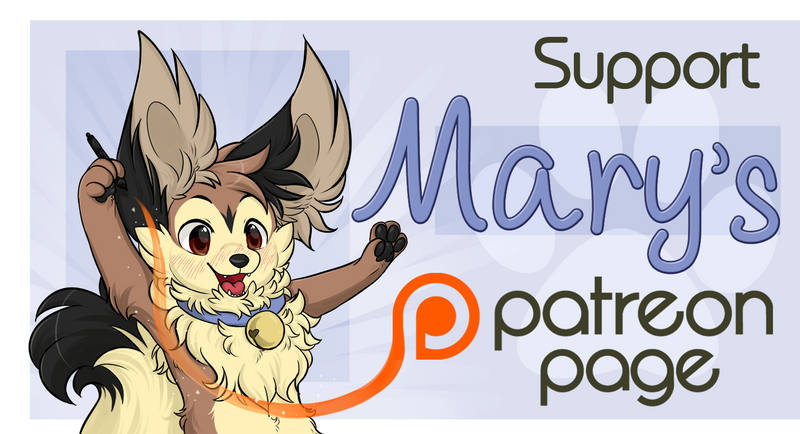Support Mary on Patreon! by ThatWildMary