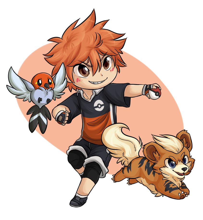 Pokemon Trainer Hinata by ThatWildMary