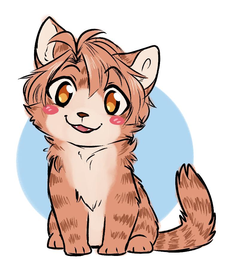 Tiny Mikki Cat by ThatWildMary