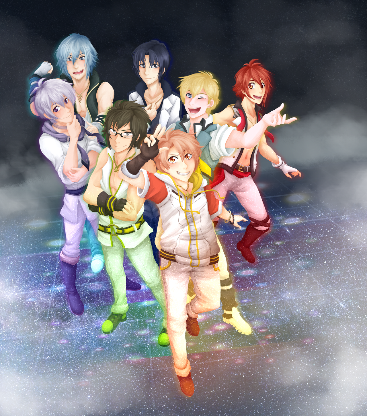 IDOLiSH7! by ThatWildMary