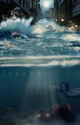 Tsunami by shahafyakov