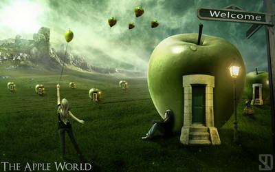 The Apple World by shahafyakov
