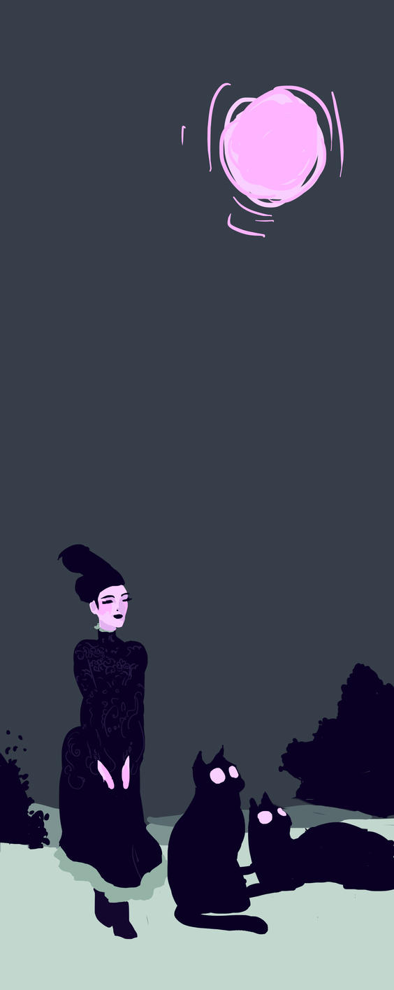 Dame de nuit by Breloque