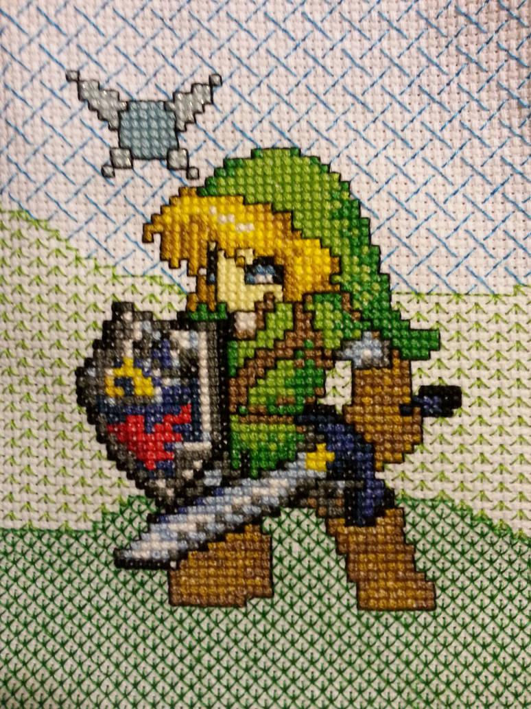 Link - Legend of Zelda by FireWings26